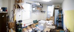 Ellen's studio