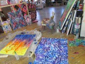 John's studio