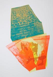 "90s Pilsen, screenprint, 12""x17"", 2012"
