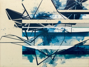 DD020913 Acrylic on canvas 18 x 24 inches 2013