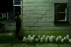 "1.""Shelters"" ceramic, photograph 2013"