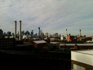View from Lindsey's studio