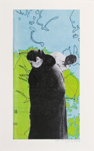 Portrait of a Moment, no. 1., 9 in x 12 in, Mixed Media, 2010