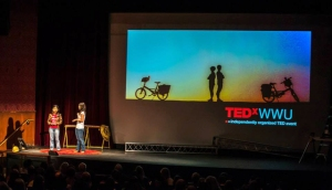 """WHY?"" – Tay and Val at TEDxWWU"