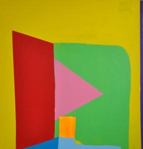 Lochinvar, 2013, acrylic on canvas, 50x48 in.