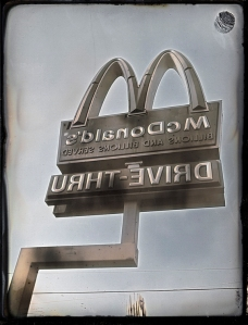 "Drive-Thru, Daguerreotype, 4""x5"", 2012"