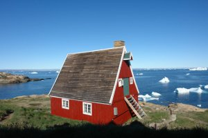Most unusual studio location to date in arctic Greenland