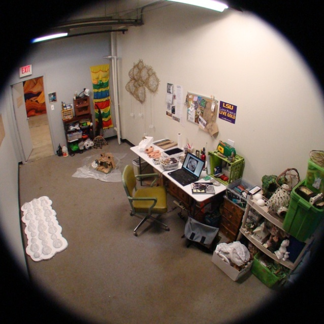 A Fisheye View of Katherine's Studio
