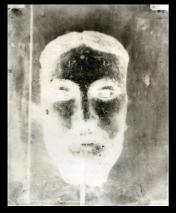 Untitled, Calotype paper negative 2013 approx 10x8 inches