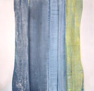 """""""Column"""", Acrylic on canvas,  48""""x48""""  2013"""
