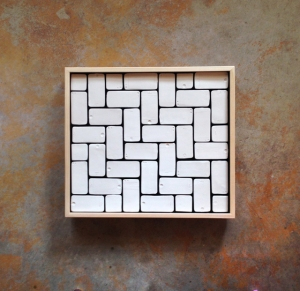 """Traditional 21st Century Tile Composition"", ceramic, 2014"