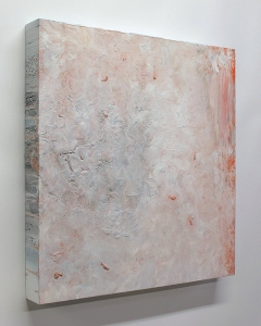 "Anamnesis, acrylic on panel, 16 x 16 x 1.75"", 2014"