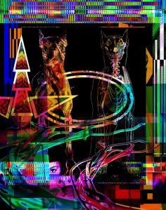 Glitched 3, Digital Image, size variable, 2014