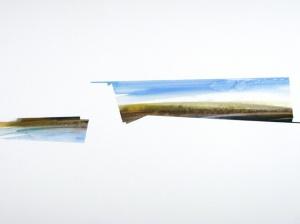 "Standoff, Watercolor, 18""x24"", 2012"