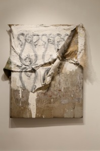 Untitled (Brooklyn) 59''x 45'' Mixed-Media on Paper 2013