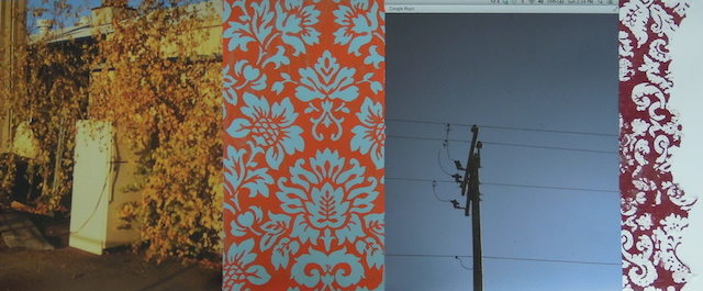 Chilton MDC. digital print, acrylic, silkscreen, and collage. 20x42. 2014