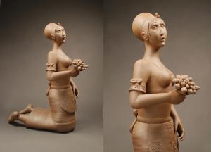 Isabella 2012, Stoneware, 46x34x18