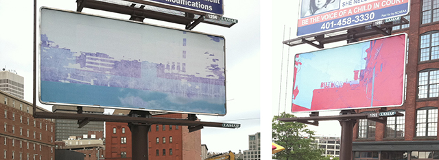 A Roadside Attraction: Providence RI, Billboard. 2012