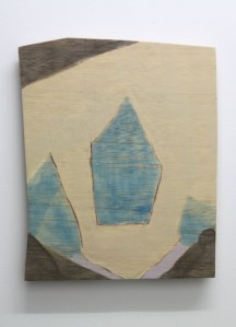 trotternish blue 2014, 29x36cm, acrylic and varnish on plywood