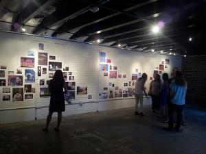 Thomas Hellstrom Installation view: Xeno:Reno Photo installation, 10 x 70 feet ArtSpace, University of Nevada, Reno, 2013