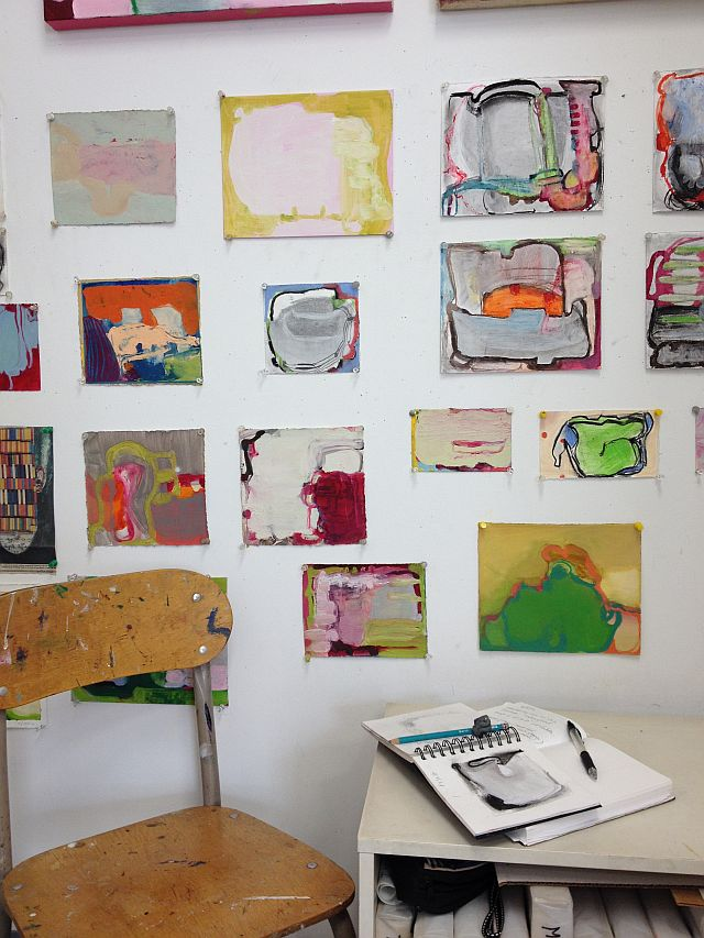 Spergel Studio corner June 2014