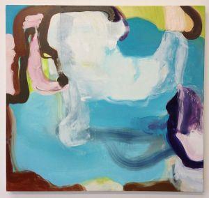 "Santo Spirito 2, 2014,            Oil on canvas, 30"" x 32"""