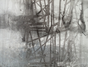 the rising 67 Lithography, Intaglio, Relief 22.5 inches x 29.5 inches 2013