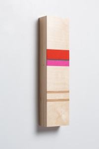 """Block D,"" 2012, Baltic Birch Plywood, Wool Felt, 5""x20""x3"""