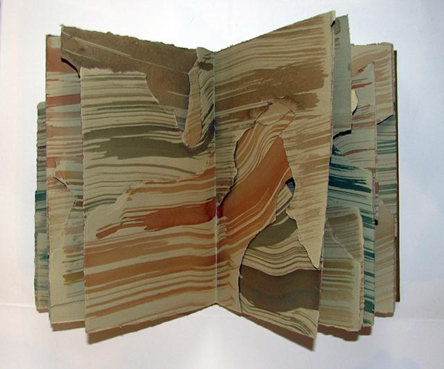 "Cosmology – Artist Book - 11"" H x 6"" W x 1"" - 2013"