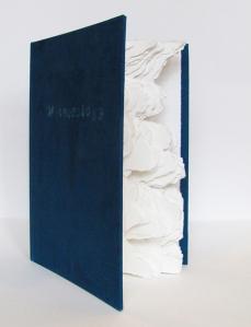 "Meteorology – Artist Book - 11"" H x 6"" W x 1"" - 2013"