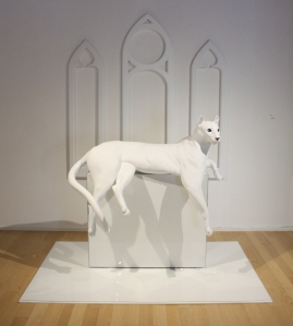 """Apparition, 2012 mixed media 