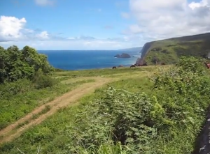 Volcano, video still, 2013, 5min50sec
