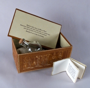 Thecla Box, Book Arts, Letterpress, Relief, Found Objects 2012