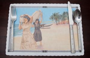 "Disposable History (Bikini Island), Archival Pigment Print, 9.45"" x 13.25"", 2014"