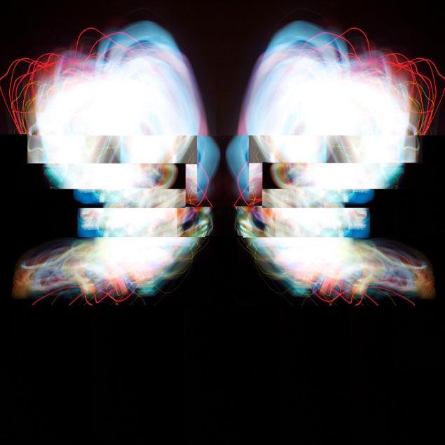 "Body Ray: Two Fetuses, Digital Media, 34"" X 34"", 2013"