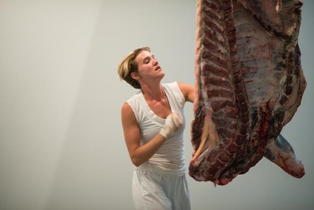 Quarter Beef, 2014 Performance still photograph