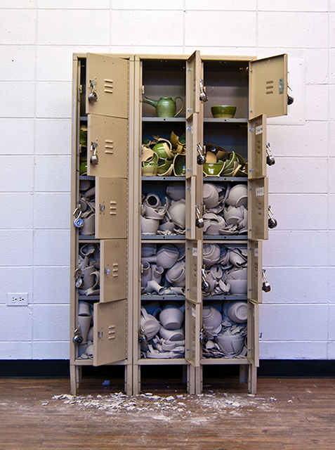 Unlock 2014 Metal/Ceramic/Clay 66 x 36 x 13""
