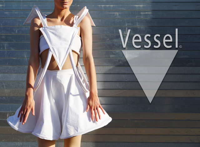 Title: Vessel, Featuring The Chastity Dress Medium: Mixed media Size: Women's 2 Year: 2014