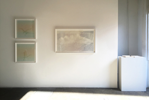 "From ""On Paper"" series, Landscape #3(diptych), Landscape #7 and Valid From Until (book)"