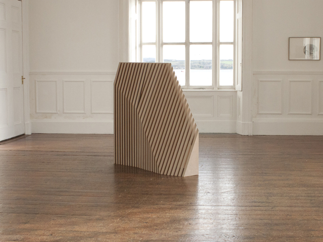 Monument, 2014, MDF, 1300 x 340 x 1560mm