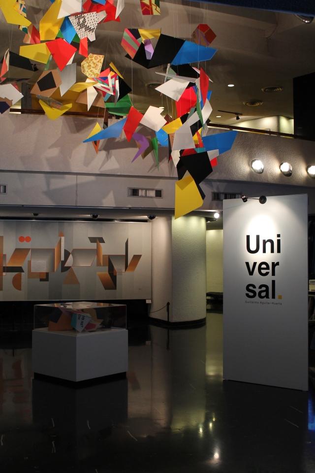 Universal  Vía Láctea Fragments@Planetario Alfa de Monterrey, Mexico_2014 Plastic & cardboard  Dimensions Variable