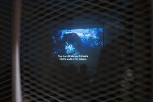 A Dialogue with Cinema (projected screening), 2014, video, 5 min
