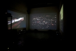 Nocturne Three-channel video/sound installation California Institute of the Arts, 2010