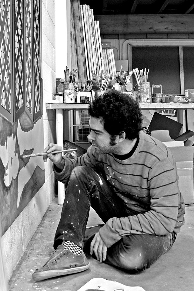 Juan de la Rica - At work