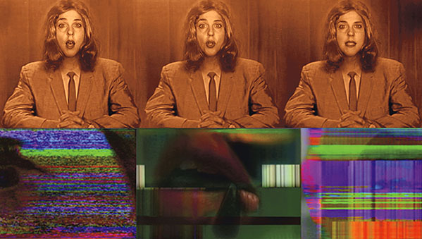 """""""Ether and the Voice: an Electronic Media Opera"""" Video Stills / 2010"""