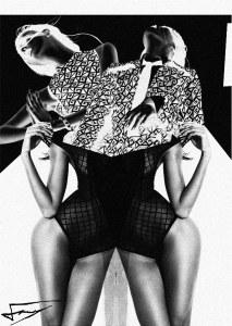The Ekekiela In Me, digital collage, 2015