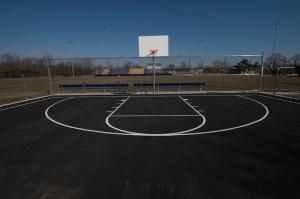 Basketball Court Archival Pigment Print 36