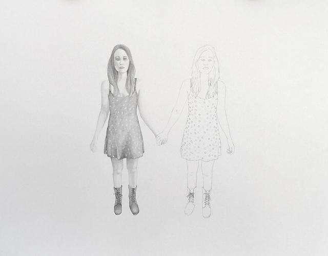 """Mirror, Graphite, 16""""x20"""", 2015"""