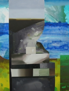 art-recursion (remix) III - 2015 -oil on canvas 29 x 22