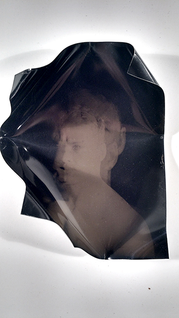 Things Forgot: Part 2, Sculptural Dry Plate Collodion Tintype, 4x5', 2015